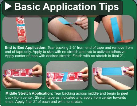 Basic Kinesiology Taping Techniques